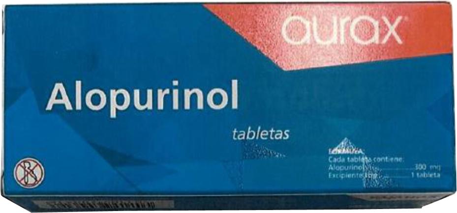 alopurinol aurax