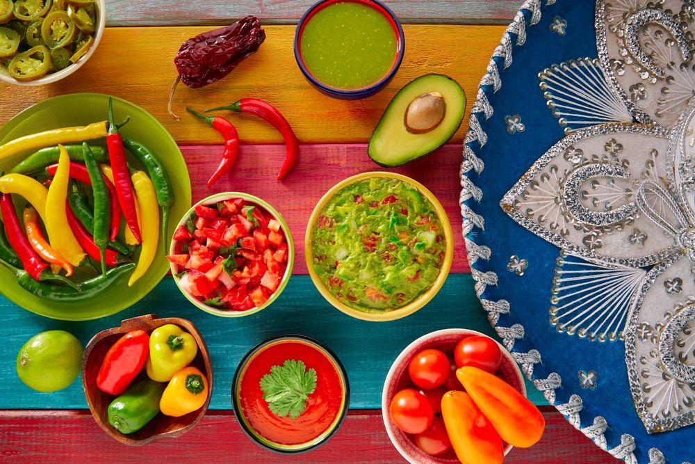 Comida tradicional de fiestas patrias