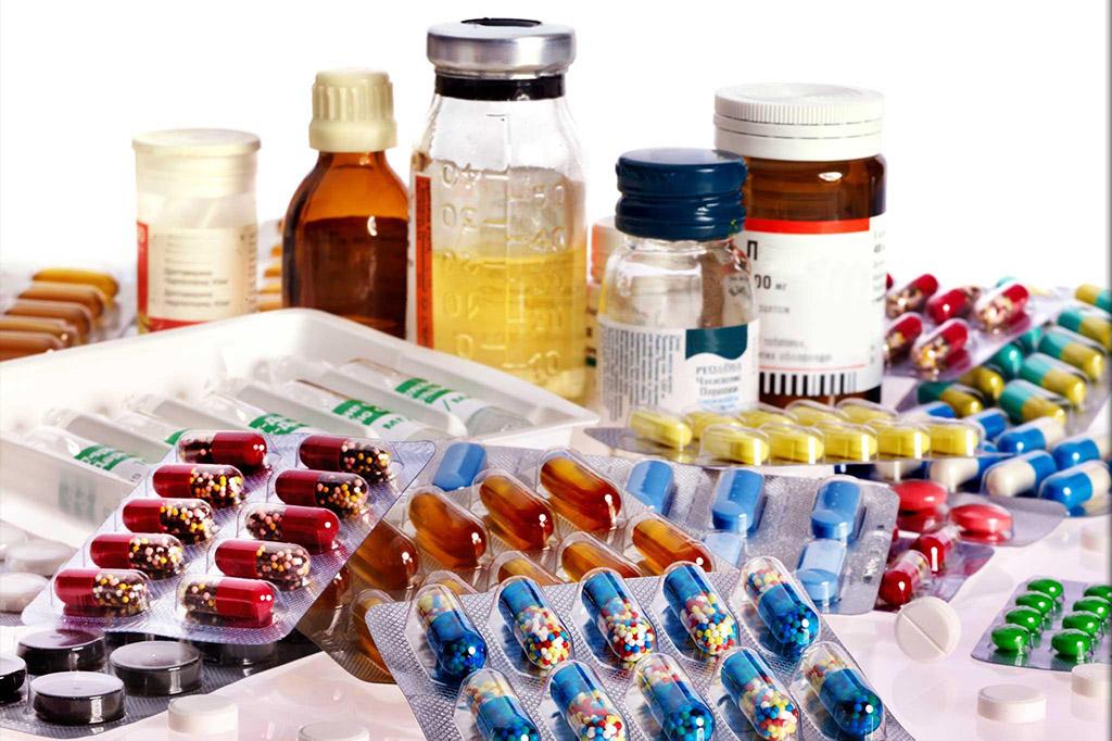 Diferentes medicamentos genéricos