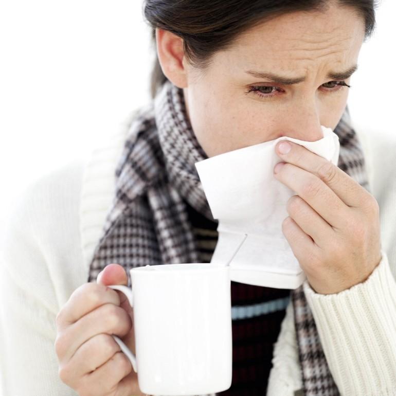 resfriado en el trabajo