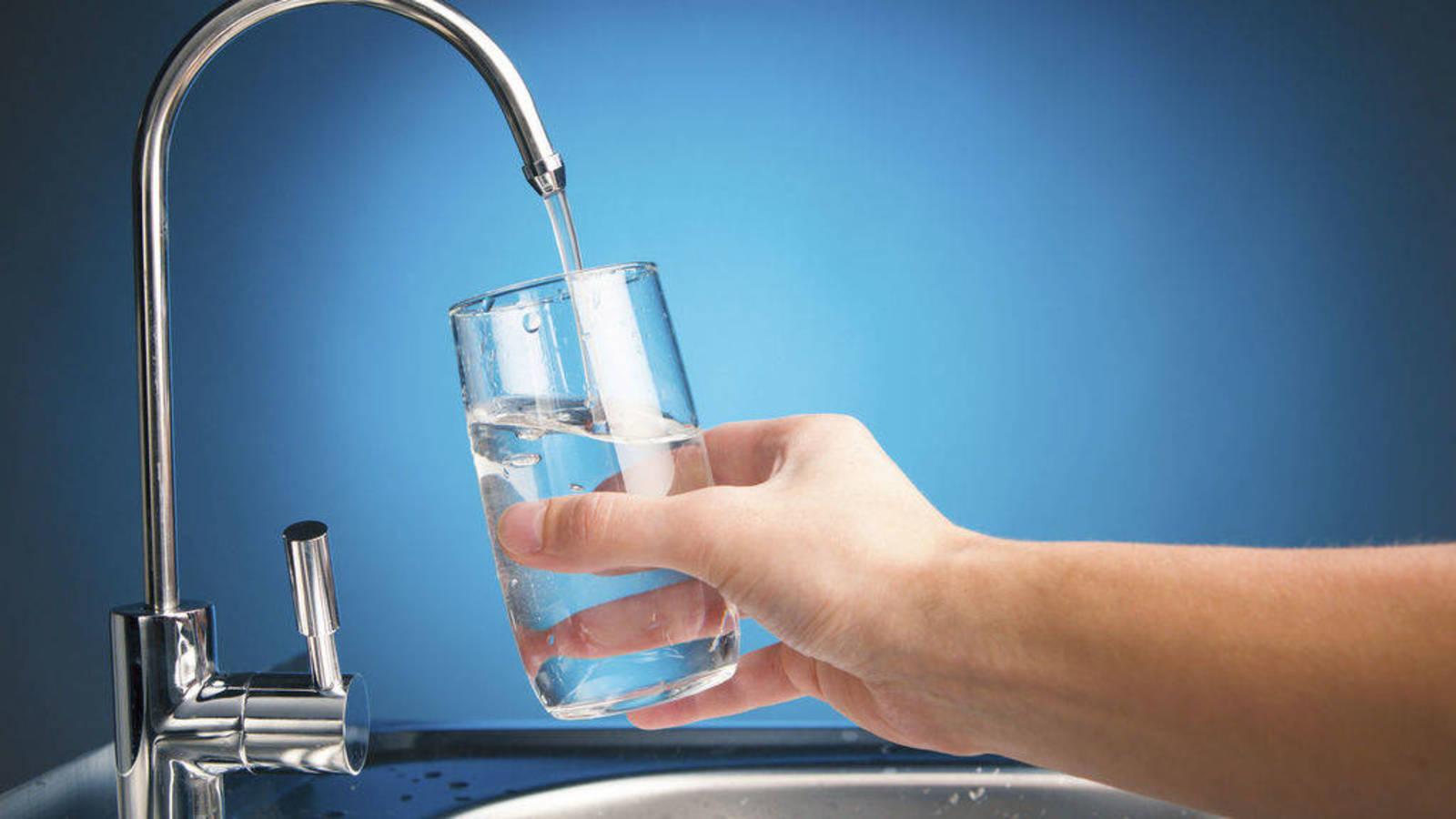 beber agua del grifo