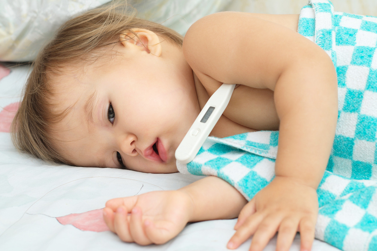 fiebre en niños pequeños