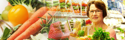 alimentos saludables en la vejez