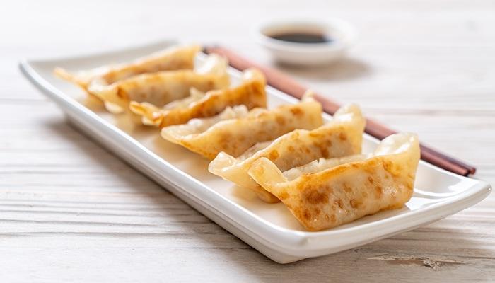 El Dumpling es muy similar al Gyoza